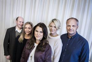 Mia Skäringer i mitten av Solsidangänget för fyra år sedan. Foto: Marcus Ericsson / TT