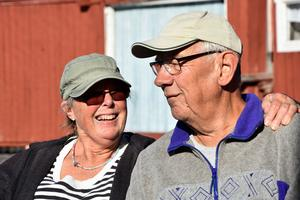 Ingrid och Erik träffades när de båda jobbade på Hägglunds i Gullänget på 1960-talet.