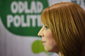 Annie Lööf (C) leder ett parti som inte direkt övertygar för tillfället.