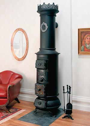 Westbo Classic från Spismiljö har ett utseende som härstammar från 1800-talet.