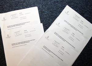 Fem Njurundaföreningar sökte bygdemedel hos länsstyrelsen. När Sundsvalls kommun lämnade sitt yttrande i bidragsfrågan blev det två ja och tre nej.