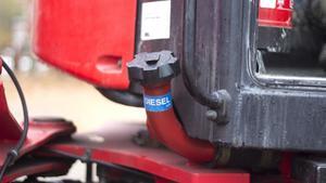 Två fall av dieselstöld har skett i Fagersta den senaste tiden. 200 liter tappades från en lastmaskin och 100 liter från en container-truck.