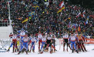 Skidskytte-VM 2008 sågs av 100 000 personer. I kväll nästan tio år senare nås kulmen på ett decennium utan motsvarighet vad gäller idrottsliga investeringar i Östersund.