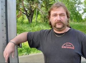 Peter Rybacker kände igen engelsmannen som lurade honom i våras, stoppade honom och lyckades få polis till platsen.Foto: Ingvar Ericson