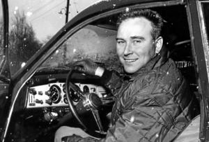 Rallyföraren Erik Carlsson