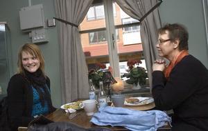 Anna Svärd, Linköping, och hennes mamma Åsa Svärd, Arbrå.