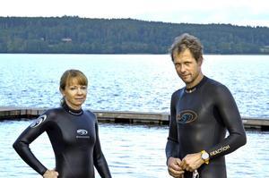 Tidigt ute. Robert och Lotta började redan i höstas prata om att delta i Ö till ö, och anmälde sig i januari.
