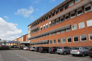 Det är byggnadsdelen närmast i bild som ska byggas om för det nya högstadiet på Gärdet.