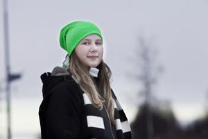 Estelle Sjöström i Rödmyra, Järvsö, tycker det är lite spännande att hennes namn plötsligt blivit kungligt.– Men SÅ speciellt är det inte, det finns ju fler som heter Estelle.