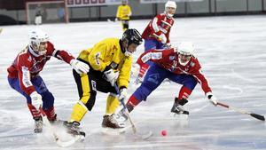 Slut på tuffa derbyn mellan Västanfors och Köping.