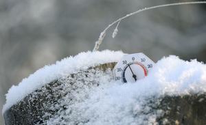 På vissa håll i länet kan det bli ned mot 20 minusgrader när kylan slår till.
