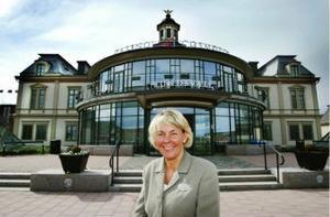 Kasinochefen Anita Öberg kan glädjas åt kraftigt ökande besökssiffror hittills år.