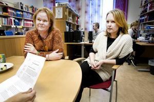 Ger tummen upp. Lärarkollegorna Anna Ericsson och Jeanette Lavigne på Polhemsskolan tycker att det vore bra om eleverna kunde överklaga sina betyg. För rättssäkerhetens skull.