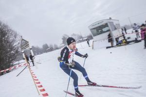 Magnus Andersson på 30-kilometerssträckan.