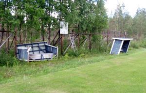 Avbytarbås på Furubacken i Vemhån.
