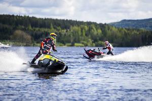 Så här såg det ut vid förra årets tävlingar på Långnäs.