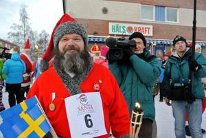 Tomtespelen uppmärksammades av tv-team från både Tyskland och Holland.