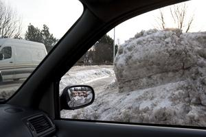 Skymmer sikten. Snövallar på Södra Gryta. Foto: MARGARETA ANDERSSON