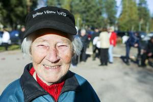 Gammal är äldst, även när det gäller boule. Ingeborg Stenvalls stabila spel bidrog till Svegs seger över Ytterberg.