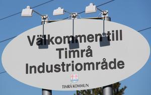 Timrå industriområde lockar många företagare.