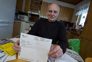 Räddningen. Kvittot som bevisar att Adam Karch var på läkarbesöket som läkaren inte minns att han varit på.