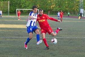 City-lånet Sezar Al-Hakim fick inte hål på sina lagkamrater i Eskilstunaklubben.