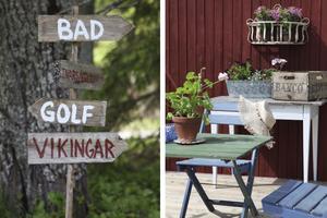På Norderön finns både badplatser och vikingar.
