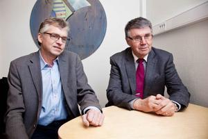 De har lärt av varandra. Per Åsling och Kjell Ericsson har inspirerats av varandra tidigare. Ekoväst startades med inspiration av Ekonord.