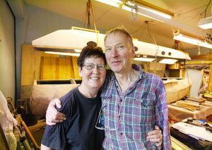 Monika och Hugo Lindam har snart sin drömbåt klar och då bär det i väg på långsegling i Medelhavet.