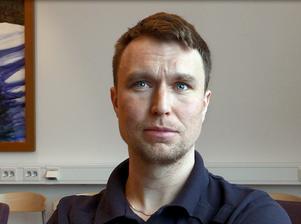 Henrik Bergqvist, vakthavande befäl på Saltviks kriminalvårdsanstalt i Härnösand.