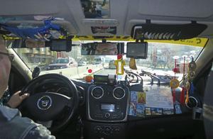 Taxichauffören är en pensionerad stridspilot.