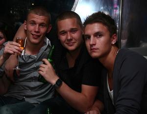 Silk. Richard, Max och Alex