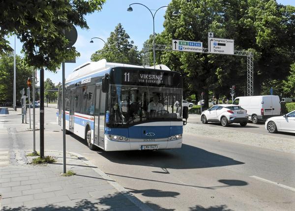I Västerås finns 80 procent av VL:s busstrafik, och där sker också de flesta biljettkontrollerna.