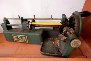 En av de allra första pennvässarna.