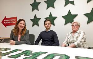 Gisela Stockhaus, till vänster, har undertecknat ett öppet brev på VSK Bandys hemsida kring miljonfakturan och det framtida samarbetet.