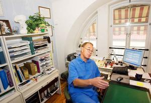 Nu har Jan Sandegård tagit emot den sista  patienten  på Storsjökliniken.