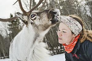 Rudolf och Ulrika har roligt ihop.