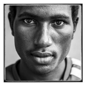 Mubarak Abdallah Ahmed är 22 år gammal och kommer från byn Loka i norra Darfur. Han söker asyl i Sverige.