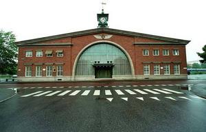 Södra station år 2000.