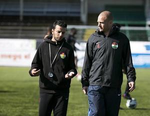 Poya Asbaghi och Andreas Brännström.