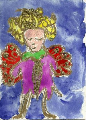 Agnes Arnlo, 6 år, Vällviken, Hallen.