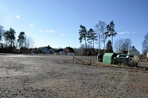 Svalan 6. Här finns över 8000 kvadratmeter outnyttjad mark nära Kumla centrum.