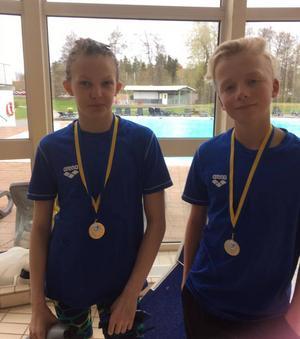 SSHK:s två medaljörer.
