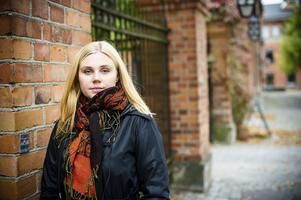 """Förskoleidé. Idén till den nya alfabetsramsan fick Annelie Salminen under ett besök på dottern Ilves förskola. """"De hade en ramsa som inte var så bra, den var inte så modern, så det började med att jag skrev en egen till förskolan"""", säger hon.Foto: FeministFotografen Sofia Kits"""