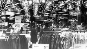 Julhandel 1973 står det bakpå den här bilden.