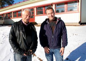 Bengt och Jonas Hammarlund öppnar snart Sandis företagshotell.