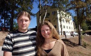 Daniel Holmlin och Sussie Andersson öppnar totalrenoverade Gagns Inn i höst med hotell, konferens, pub och lunchservering.FOTO: CHARLOTTA RÅDMAN FRANS