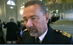 Stephen Jerand, avgående chef för polisområde Jämtland, var inte nådig sin kritik mot polisens nya omorganisation, då han på måndagen jultalade i Gamla Kyrkan i Östersund.