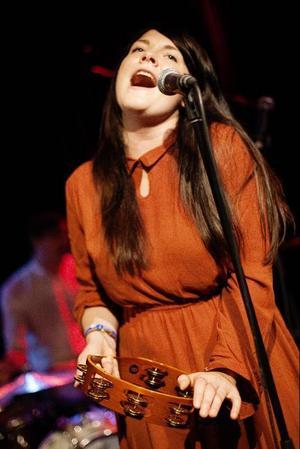 Julia Hanberg sjöng bland annat med bandet Nord och Syd.