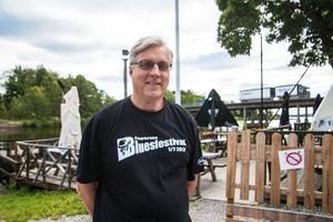 Gösta Berglund ordförande i Fagersta bluesförening.